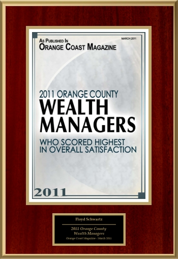 2011 Orange County Wealth Managers