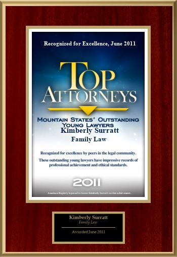 Top Attorneys - Mountain States' Outstanding Young Lawyers