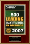 500 Leading Plaintiff Lawyers In America
