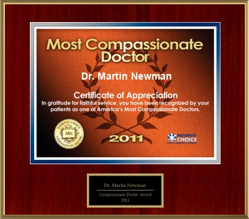 2011 Compassionate Doctor