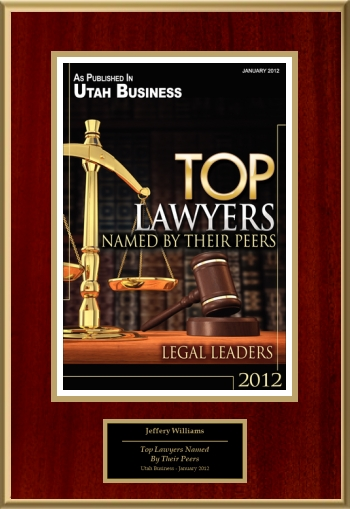Top Lawyers Named By Their Peers
