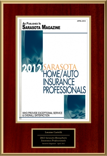 2012 Sarasota Home/Auto Insurance Professionals