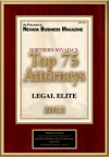 Northern Nevada's Top 75 Attorneys