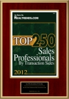 Top 250 Sales Professionals By Transaction Sides