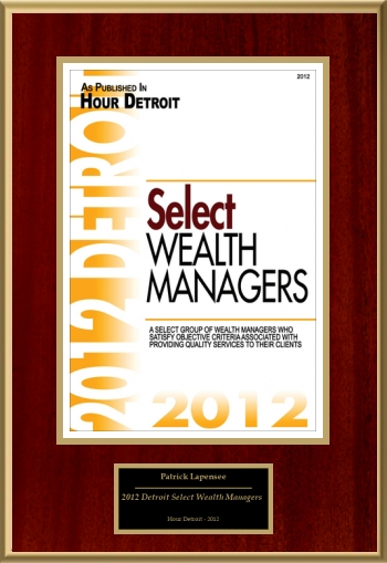 2012 Detroit Select Wealth Managers