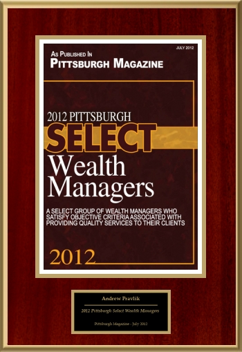 2012 Pittsburgh Select Wealth Managers
