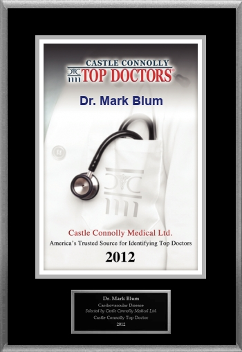 Castle Connolly Top Doctor 2012