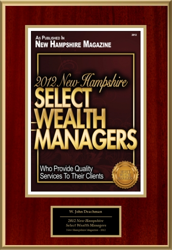 2012 New Hampshire Select Wealth Managers