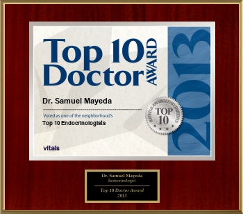 Top 10 Endocrinologists