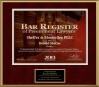 The 2013 Bar Register of Preeminent Attorneys