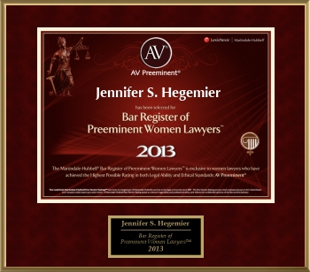 2013 Women's AV Preeminent Attorneys