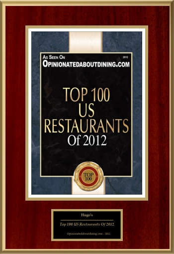 Top 100 US Restaurants Of 2012