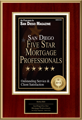 San Diego Five Star Mortgage Professionals