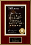 San Diego Five Star Home/Auto Insurance Professionals