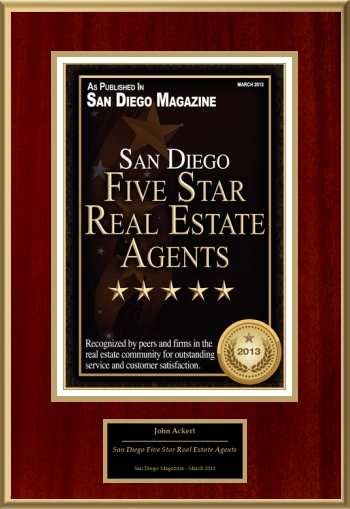 San Diego Five Star Real Estate Agents