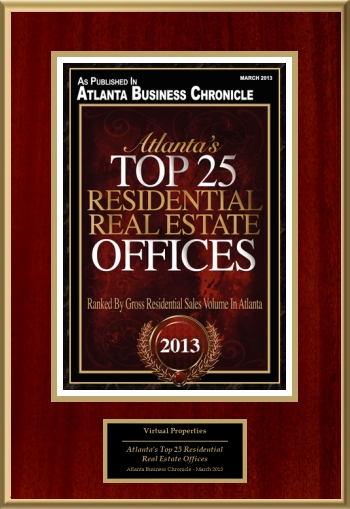 Atlanta's Top 25 Residential Real Estate Offices