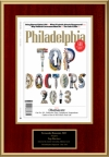 Philadelphia Magazine Top Doctors May 2013