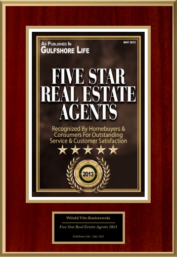 Five Star Real Estate Agents 2013