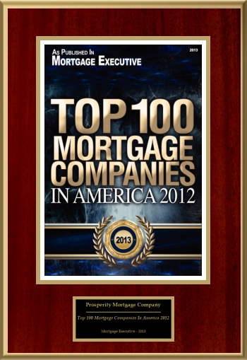 Top 100 Mortgage Companies In America 2012