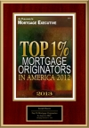 Top 1% Mortgage Originators In America 2012