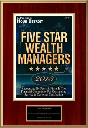 Top Five Star Wealth Managers In Detroit - Detroit 2013