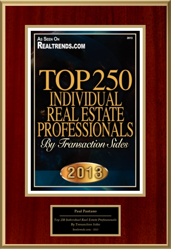 Top 250 Individual Real Estate Professionals By Transaction Sides