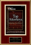 2013 Top Attorneys - Saluting Excellence