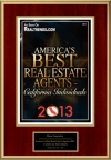 America's Best Real Estate Agents 2013 - California Individuals