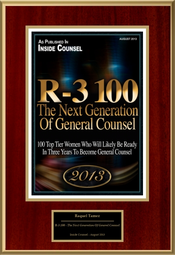 R-3 100 - The Next Generation Of General Counsel