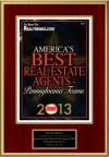 America's Best Real Estate Agents 2013 - Pennsylvania Teams