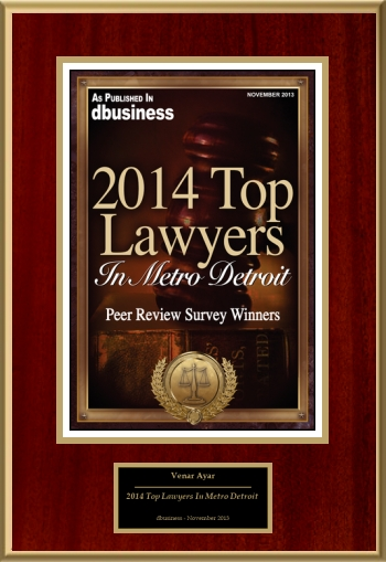 2014 Top Lawyers In Metro Detroit