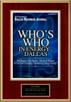 Who's Who In Energy - Dallas