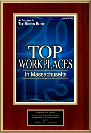 Top Workplaces In Massachusetts 2013