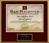 2014 Bar Register of Preeminent Attorneys
