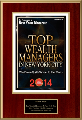 2014 Top Wealth Managers In New York City