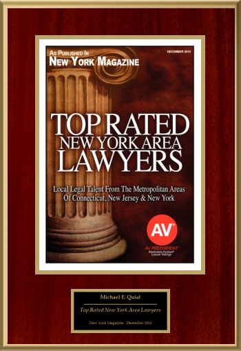 Top Rated New York Area Lawyers