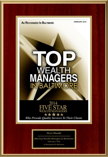2014 Top Wealth Managers In Baltimore