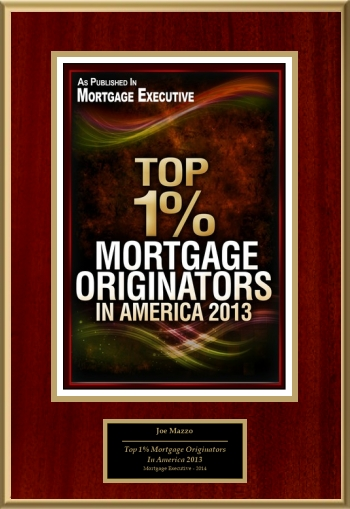 Top 1% Mortgage Originators In America 2013