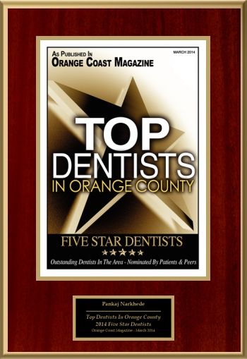 2014 Top Dentists In Orange County