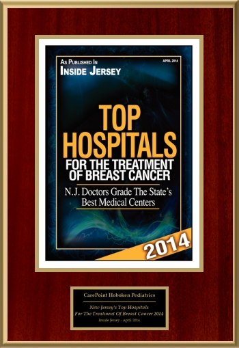 New Jersey's Top Hospitals For The Treatment Of Breast Cancer 2014
