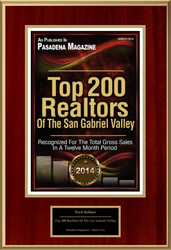 Top 200 Realtors Of The San Gabriel Valley
