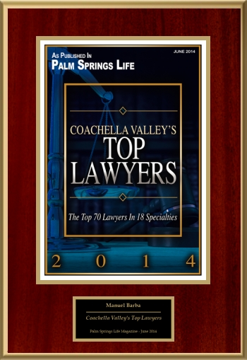 Coachella Valley's Top Lawyers