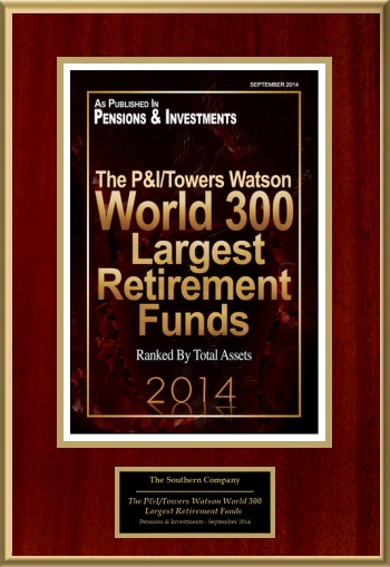The P&I/Towers Watson World 300: Largest Retirement Funds