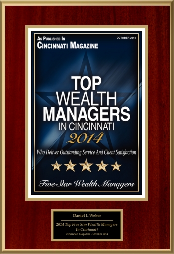 2014 Top Five Star Wealth Managers In Cincinnati