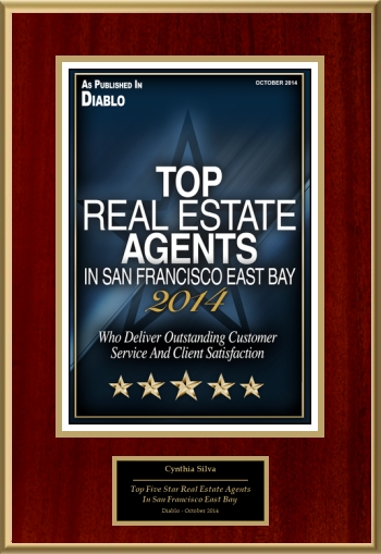 2014 Top Five Star Real Estate Agents In San Francisco East Bay