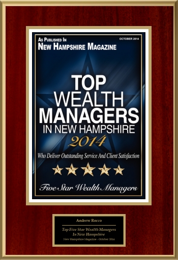 Top Five Star Wealth Managers In New Hampshire