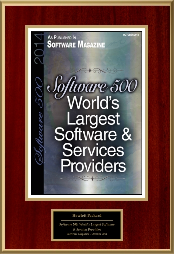 Software 500:  World's Largest Software & Services Providers