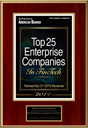 Top 25 Enterprise Companies In FinTech