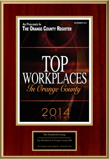 Top Workplaces In Orange County 2014