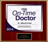 Vitals Patients' Choice On Time Physician Award 2014